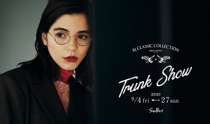 「BJ CLASSIC COLLECTION トランクショー2020」開催!