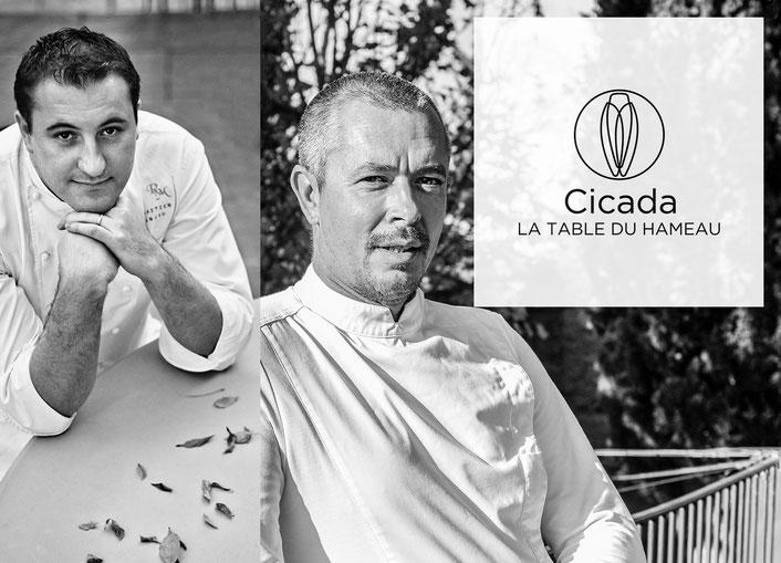 Cuisine à 4 mains à Cicada avec Stephan Paroche et Sébastien Sanjou