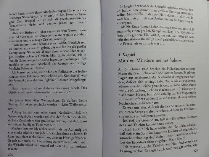 """Das Buch von Irmgard Litten wurde von Patricia Litten als Hörbuch """"Trotz der Tränen"""" eingelesen."""