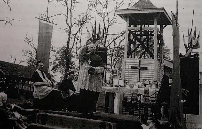 Inauguration de la chapelle Saint-Blaise.