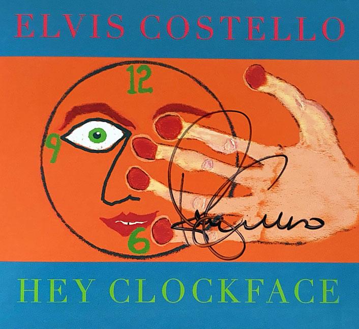 Autograph Elvis Costello Autogramm