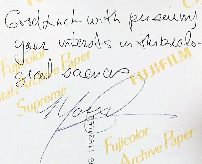 Autograph Mario Capecchi Autogramm