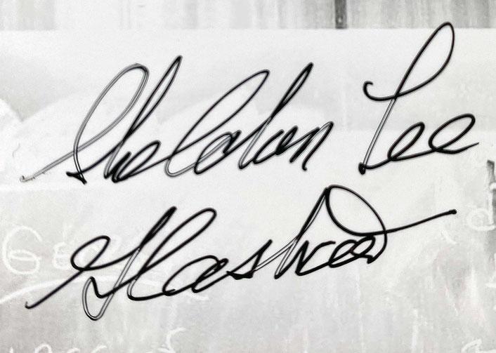Autograph Sheldon Lee Glashow Autogramm