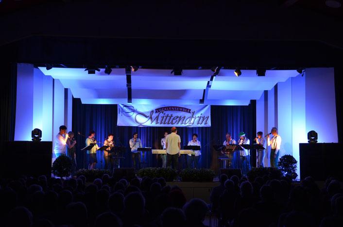 #Vocalensemble Mittendrin, Vocalensemble Mittedrin, Jubiläumskonzert, 20Jahre, Mittendrin, Volkshaus St.Michael