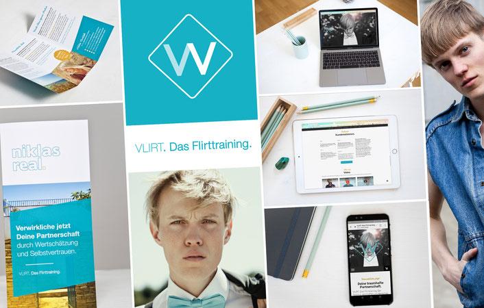 Webdesign Fotografie Social Media Mann Flirttraining