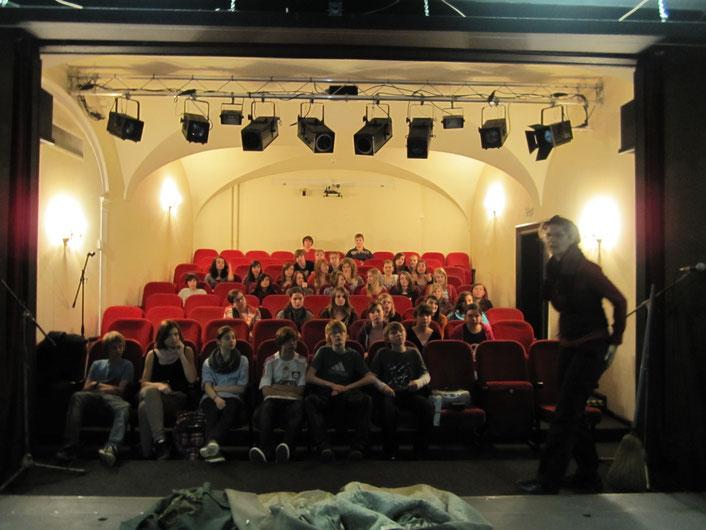 Führung im Theater