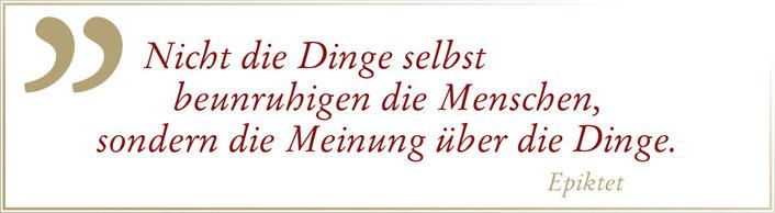 Zitat Epiktet Claudia König
