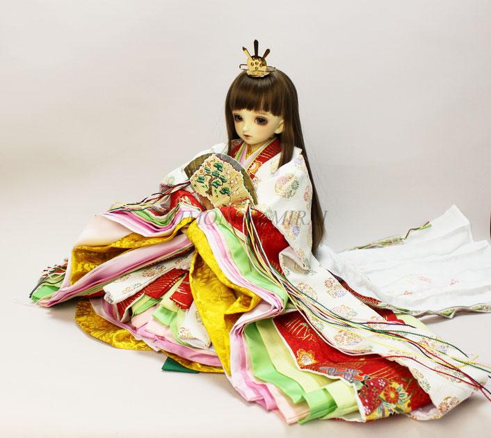 リカちゃん 袴,ブライス 卒業,ruruko kimono