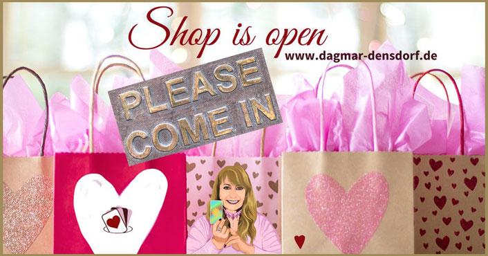 Kartenlegen mit Dagmar Densdorf Shop