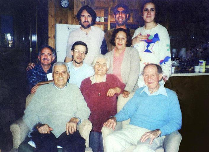 2000 : Marjan Namiranian, Esfandiar, Farshid, Damien, Darwin Shaw, Shireen, Philip Craeger & Jeff Wolverton