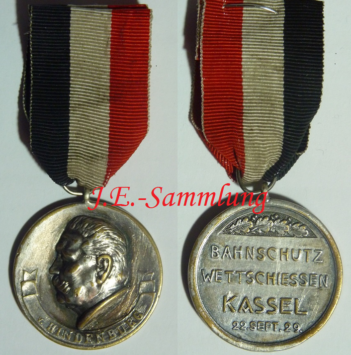 Schießmedaille von 1929