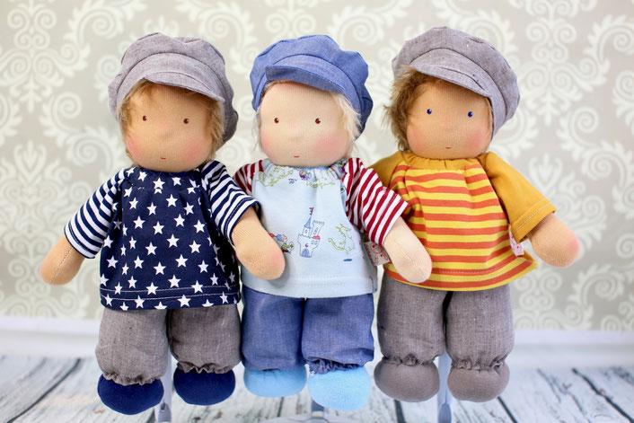 Junikate-Puppen, Waldorfpuppe für Jungen, Waldorfpuppen, Waldorfdoll, Steiner-Doll, Junikate