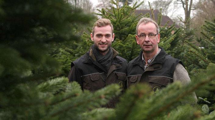 Weihnachtsbäume vom Forsthof Prüser