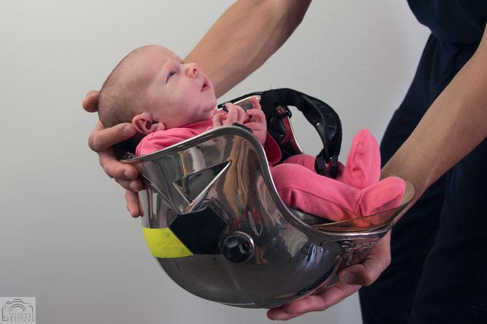 Photo bébé pompier