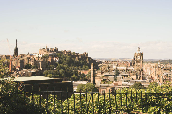 Edinburgh Scotland ofpenguinsandelephants of penguins and elephants Calton Hill view