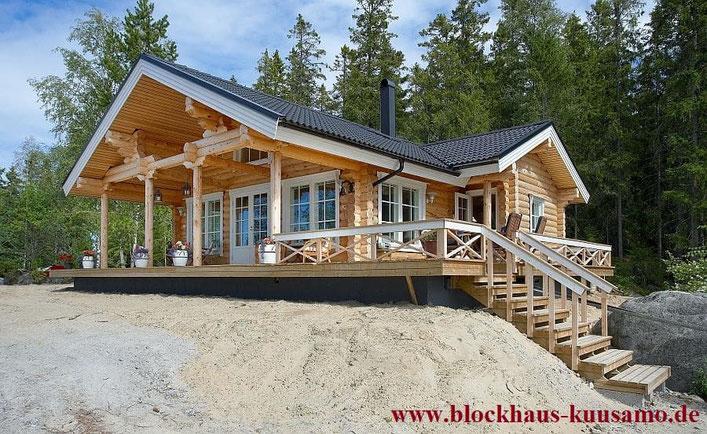 Dieses Blockhaus holte sich die Auszeichnung in Gold - Neubau, Hanghaus, Wohnen, Singlehaus, Villa, Chalet,