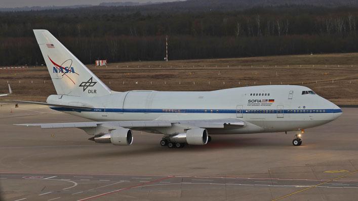 N747NA Boeing 747-SP21 NASA Sofia (build May 1977)