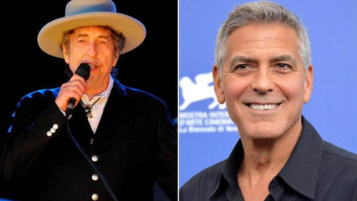 """Bob Dylan e George Clooney stanno lavorando per la produzione del film """"Calico Joe"""" La società di produzione sarà la Smoke House Pictures.  Il film è coprodotto dalla Grey Water Park Productions di Bob Dylan"""