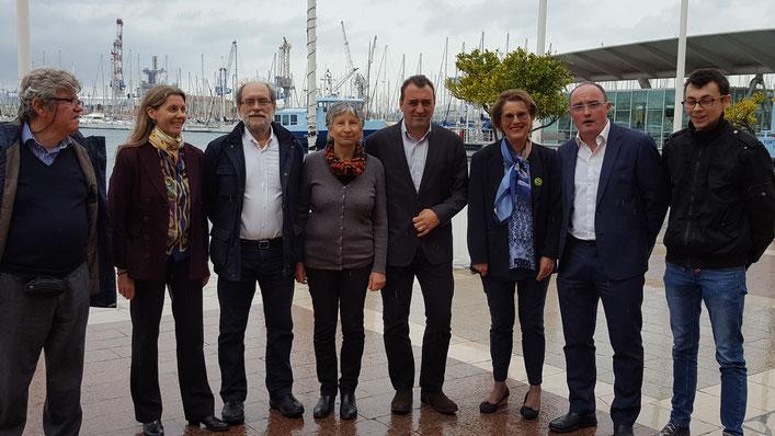 Les candidats Europe Ecologie Les Verts du Var aux Législatives 2017 - Crédit photo : Var Matin