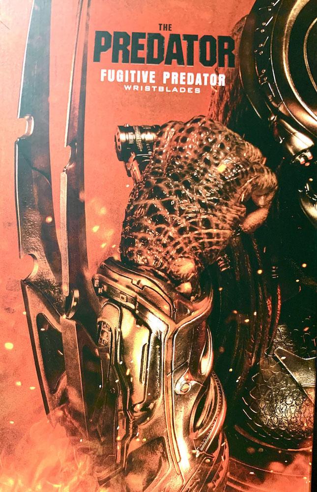 Fugitive Predator Wristblades 1/1 Life Size Predator 2018 74cm Prime 1 Studio