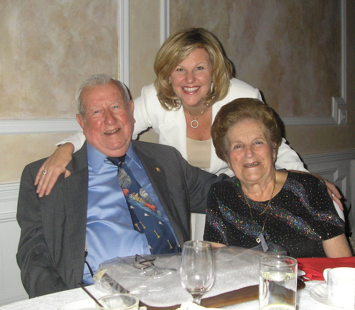 Len Zuchowski, his wife Irene and Mayor Mahr at the 2007 Fanwood FD/Rescue Squad dinner.
