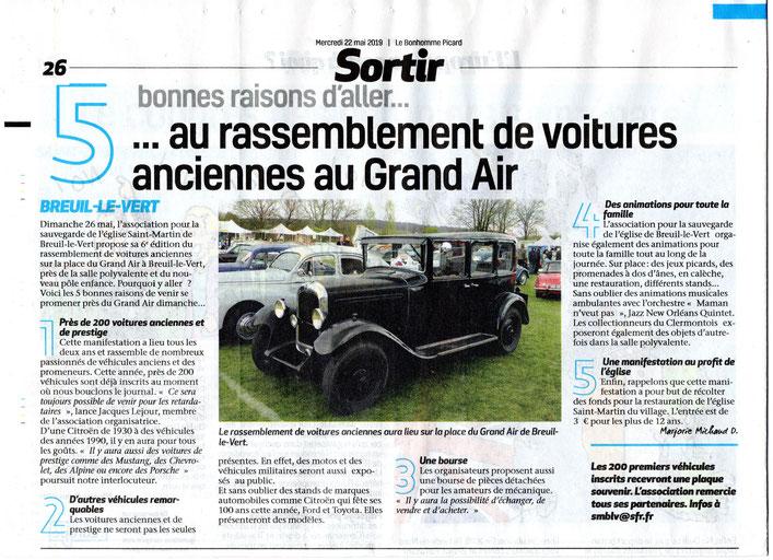 22 mai 2019 Le Bonhomme Picard