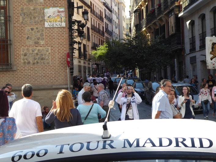 La Calle Arenal de Madrid