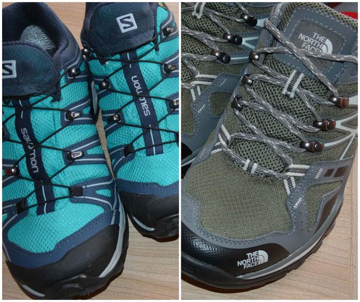 chaussures - tour du monde