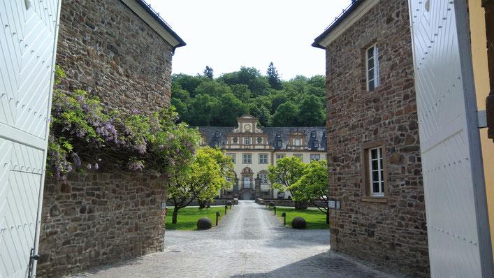 Das Schloss Ehreshoven in Engelskirchen