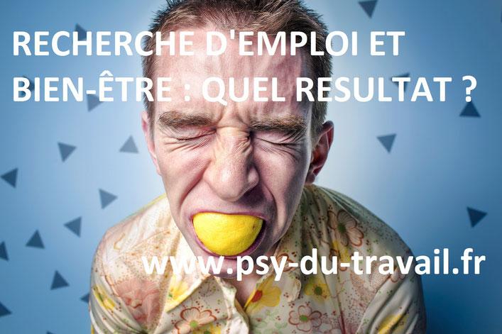Effet du chômage sur la santé mentale, chômage et dépression, psychologie du travail