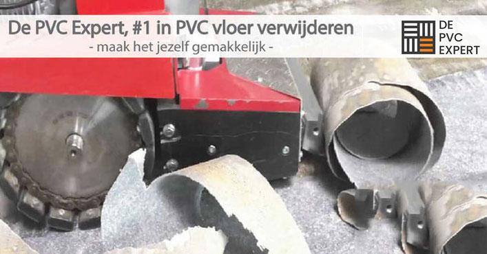 De PVC Expert is nummer 1 in het verwijderen van PVC vloeren
