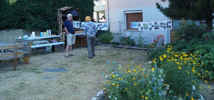 Le jardin de Mosaïca, un lieu de partage