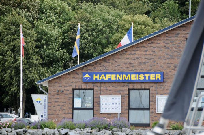 Hafenmeisters Refugium in der BB-Marina