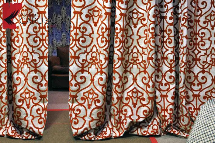 Tende Da Interni Torino : Tendaggi torino atelier tessuti arredamento tende
