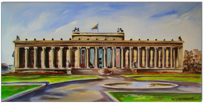 BERLIN- Altes Museum auf der Museumsinsel