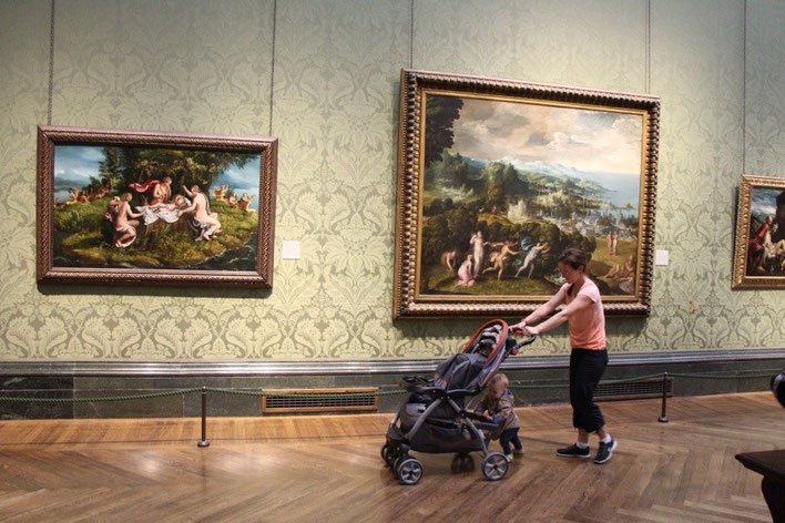 Travel London With a Baby - National Gallery