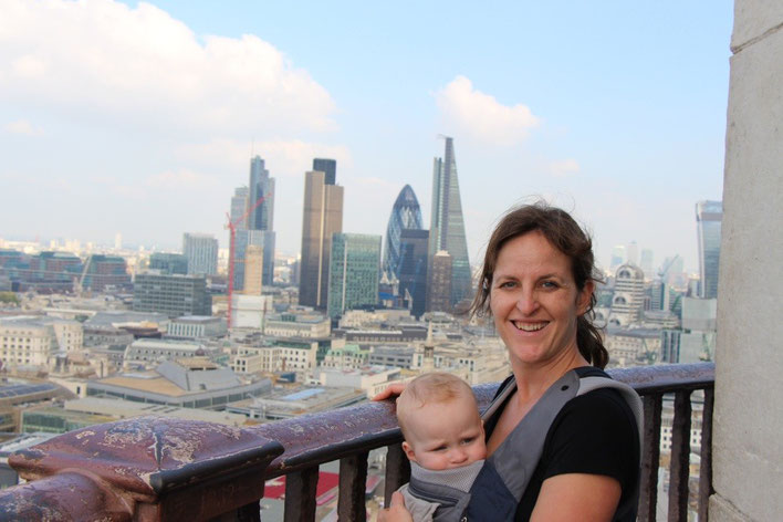 Travel London With a Baby - St. Paul's Cathedral