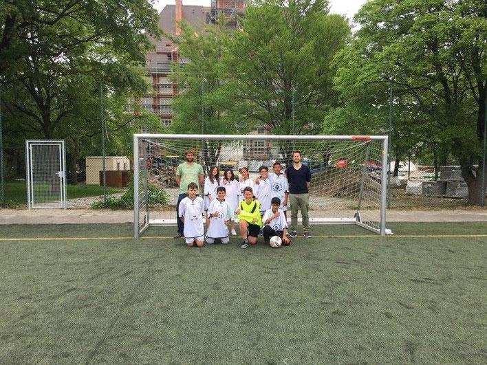 Unsere Fußballmannschaft der jüngeren Jahrgänge