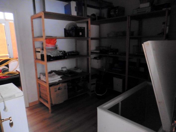 Büro und Abstellraum