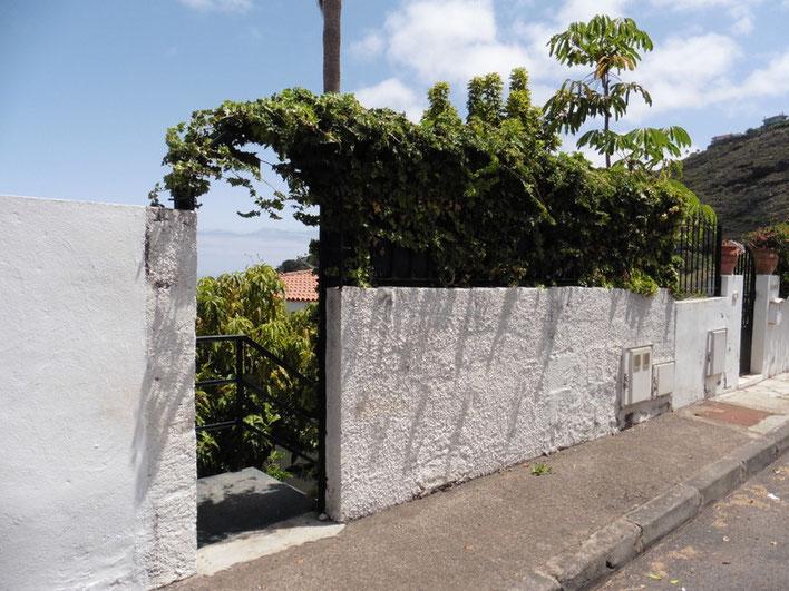 2. Eingang zum Garten und Haus