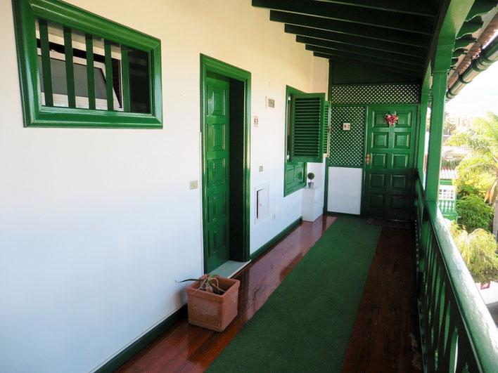 Zugang zur Haustür