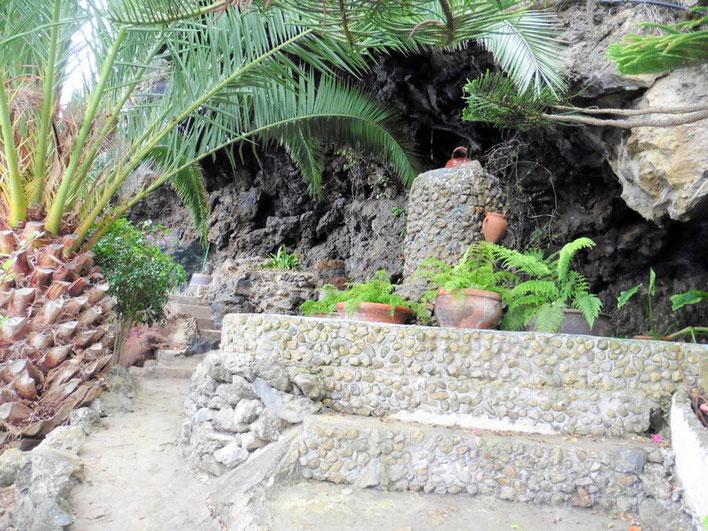 Zugang zur Höhle