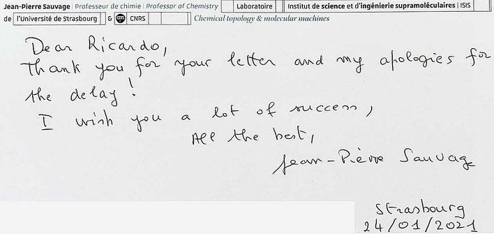 Autograph Jean-Pierre Suavage Autogramm