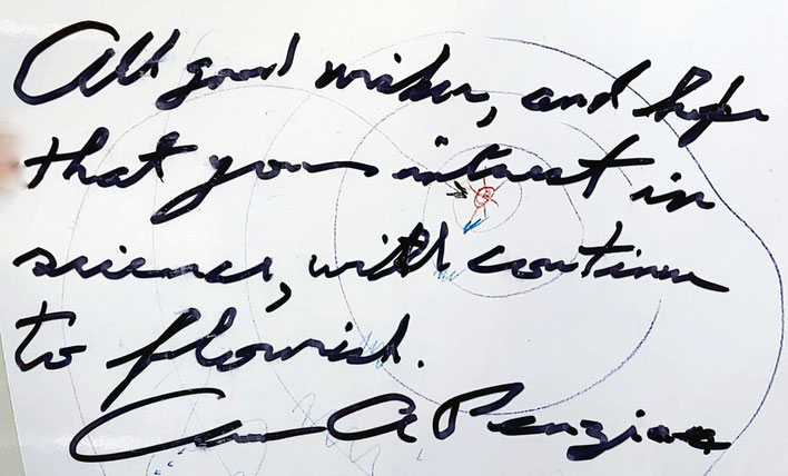 Autograph Arno Penzias Autogramm