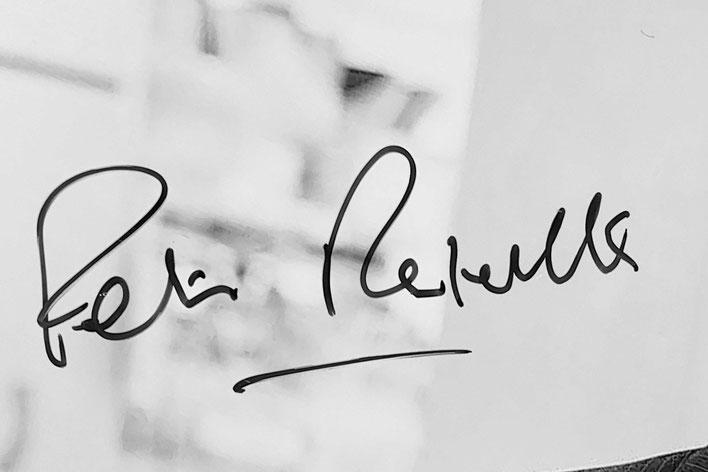 Autograph Peter Ratcliffe Autogramm