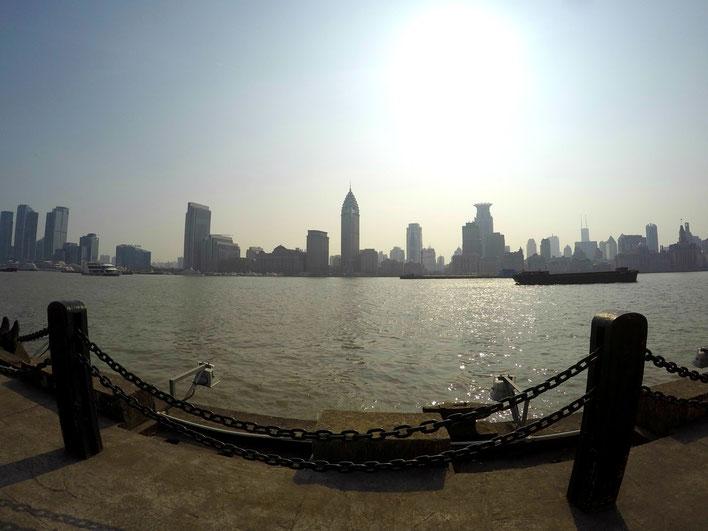 Blick von Pudong auf Puxi