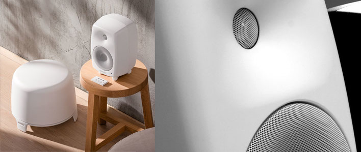 Genelec G Three et son caisson Genelec F Two