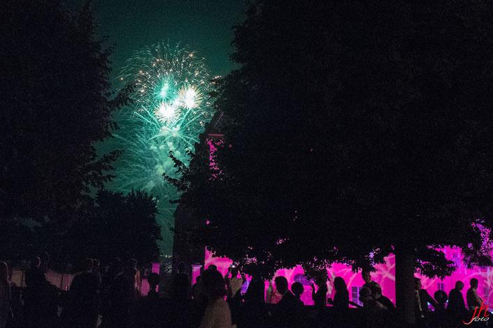 Feuerwerk in Schlosshof