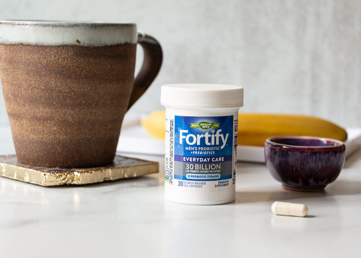 Want the scoop on probiotics facts & digestive health questions? Get intel on women's probiotics & men's probiotics! #ad #fortify #probiotics #supplement #immunehealth #immunity #immunesystem #guthealth #microbiome #womenshealth #menshealth