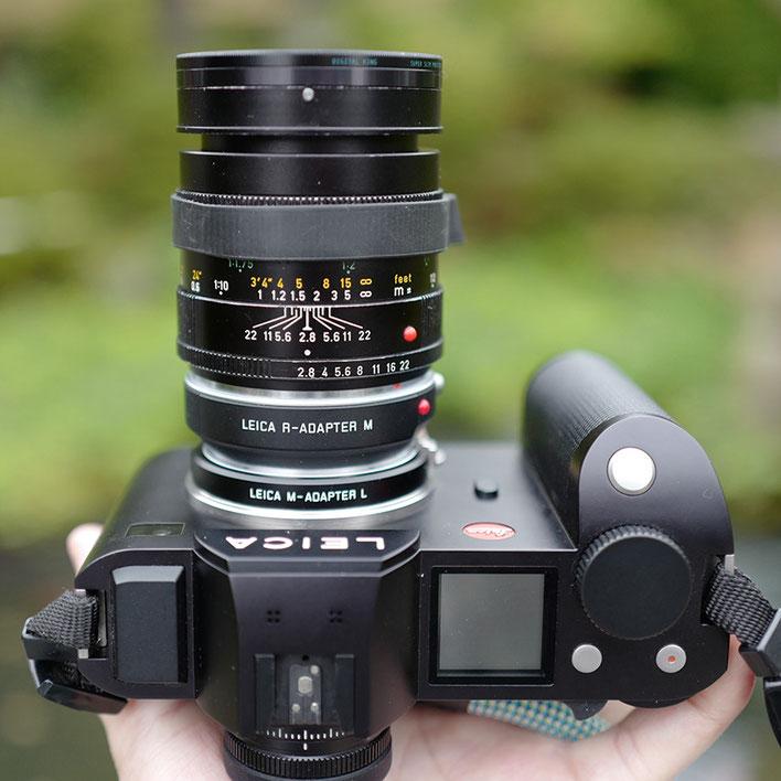 LeicaSL+Leica Macro-Elmarit-R 100mm f2.8 マクロ・エルマリート R f2.8/60mm